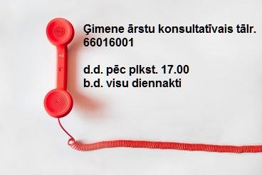 ārstu tālrunis